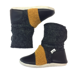 Harvest Felted Wool Booties | Nooks Design