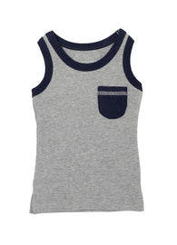 Navy Heather Racerback Tank | lovedbaby - Nature Baby Outfitter