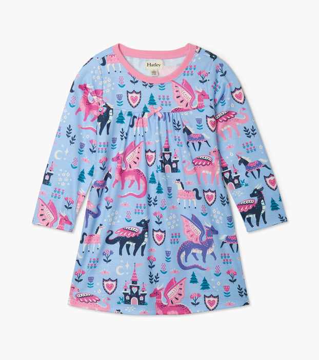 Enchanted Forest Long Sleeve Nightdress  | Hatley