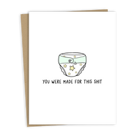 'Made For This Poop' Card | Rockdoodles
