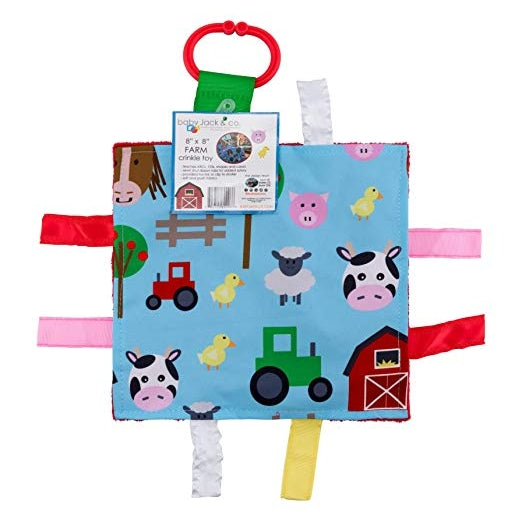 Farm Learning Crinkle Toy | Baby Jack