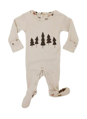 Stone Trees Footie | Lovedbaby - Nature Baby Outfitter