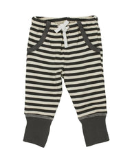 Grey & Beige Stripe Joggers | Lovedbaby - Nature Baby Outfitter