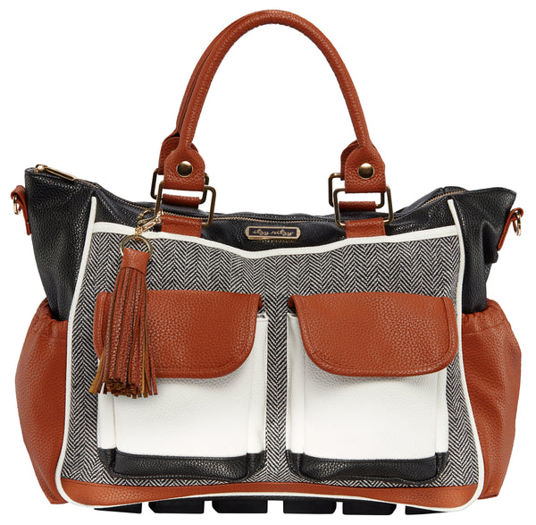 Coffee & Cream Triple Threat Convertible Diaper Bag | Itzy Ritzy
