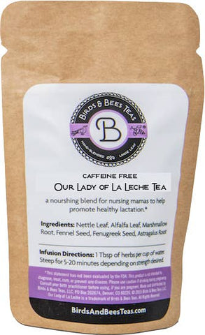 Our Lady of La Leche Tea | Birds & Bees Teas