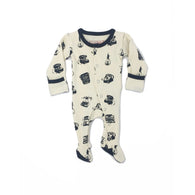 Retrogram Lovedbaby Organic Footed Overall - Nature Baby Outfitter