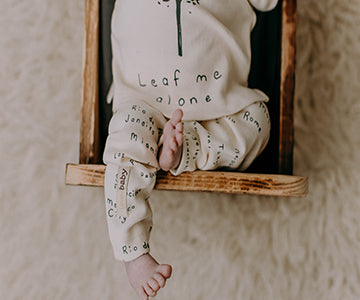 Beige City Names Leggings | Lovedbaby - Nature Baby Outfitter