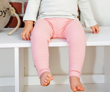 Coral Organic Leggings | Lovedbaby - Nature Baby Outfitter