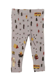 Grey Camp Leggings | Lovedbaby - Nature Baby Outfitter