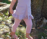 Mauve Organic Leggings | Lovedbaby - Nature Baby Outfitter