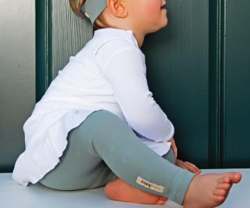 Seafoam Organic Leggings | Lovedbaby - Nature Baby Outfitter