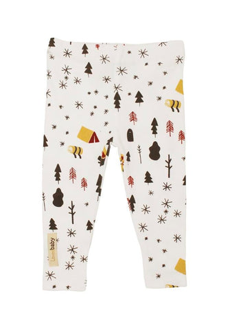 White Camp Leggings | Lovedbaby - Nature Baby Outfitter