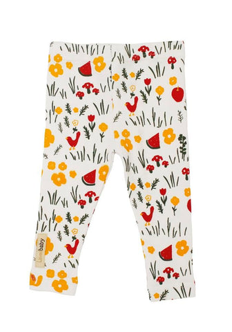 White Hike Leggings | Lovedbaby - Nature Baby Outfitter