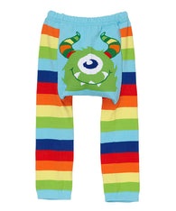 Rainbow Monster Leggings| Doodle Pants