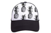 Pineapples Black Hat | Tiny Trucker