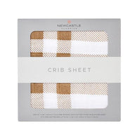 Plaid Crib Sheet| Newcastle