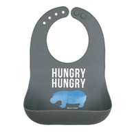 Bella Tunno - Hungry Hungry Hippo Wonder Bib - Nature Baby Outfitter