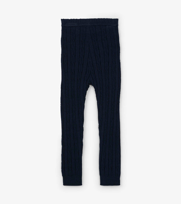 Navy Cable Knit Leggings | Hatley