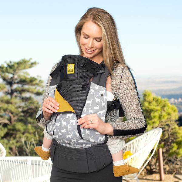 Oh Deer! All Seasons | 6-Position Baby Carrier | COMPLETE by LILLEbaby - Nature Baby Outfitter