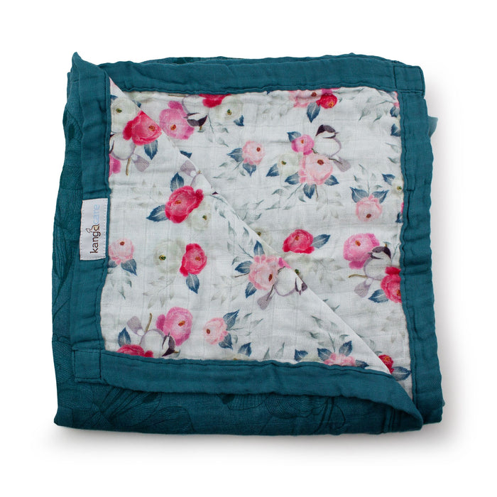 Lily Serene Reversible Blanket | Kanga Care
