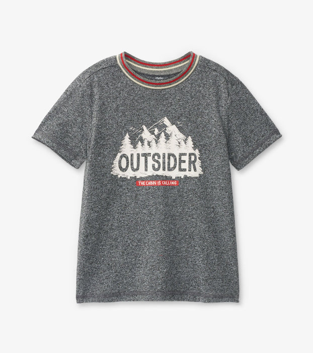 'Outsider' Kids Heritage Tee | Little Blue House by Hatley