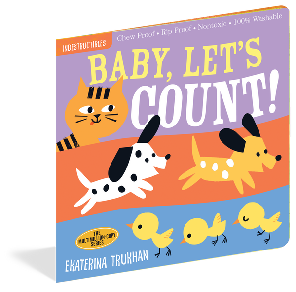 Baby, Let's Count Chewproof  Book | Indestructibles