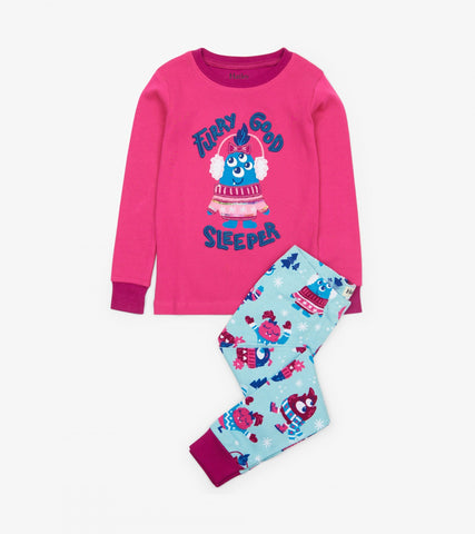 Cozy Creatures Organic Cotton Pajamas | Hatley