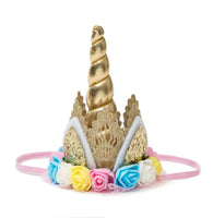 Sweet Wink - Unicorn Crown - Pastel Rainbow