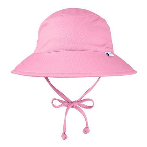 Light Pink Breathable Bucket Sun Hat - Nature Baby Outfitter