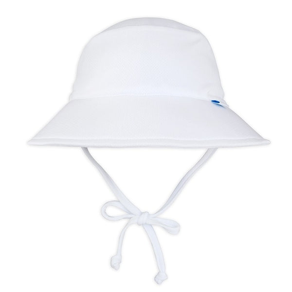 White Breathable Bucket Sun Hat - Nature Baby Outfitter