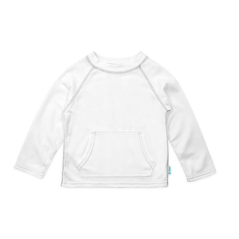 White Breathable Sun Protection Shirt - Nature Baby Outfitter