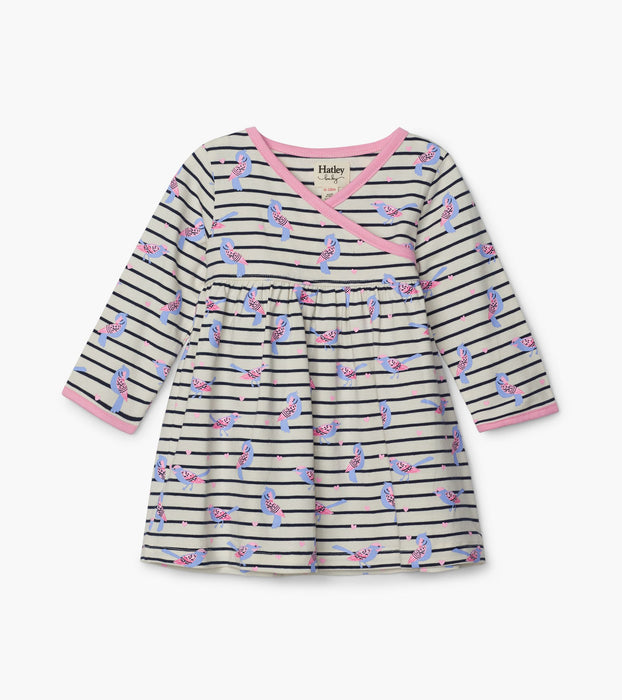Sweet Birdies Baby Crossover Dress | Hatley
