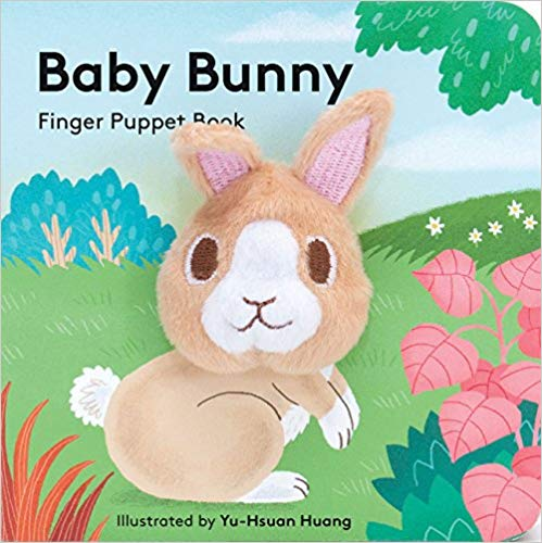 Baby Bunny Finger Puppet Book| Chronicle - Nature Baby Outfitter