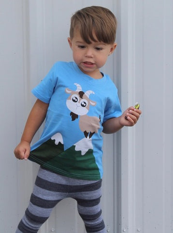 Billy The Goat T-Shirt| Doodle Pants - Nature Baby Outfitter