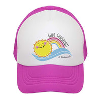 Hello Sunshine Trucker Hat | JP DOoDLES