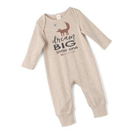 'Dream Big Little One' Long Sleeve  Romper | Tesa Babe