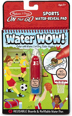 Water WOW! Sports - On The Go Travel Activity | Melissa & Doug