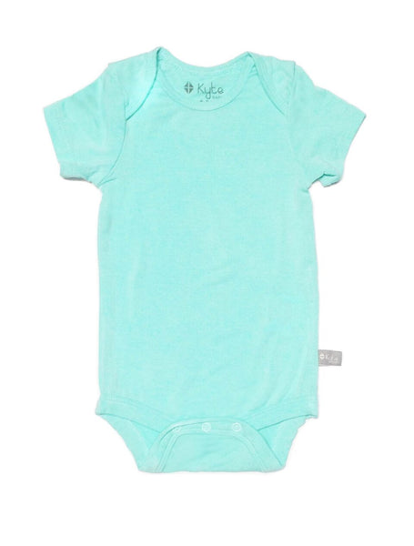 Aqua Solid Onesie | Kyte Baby - Nature Baby Outfitter