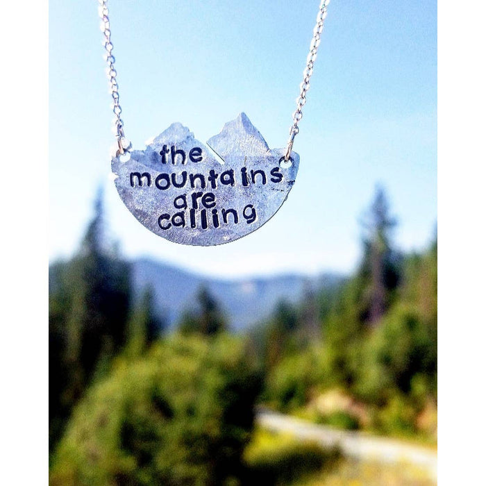 'Mountain View' Necklace | Unique Twist Jewelry