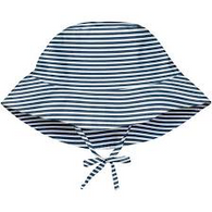 Navy Stripe Bucket Sun Hat | i Play