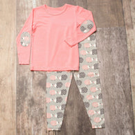 Pink Hedgehog Pajama Set | Bestaroo