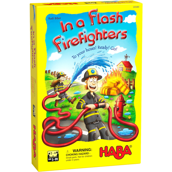 In a Flash! Firefighters Game | HABA