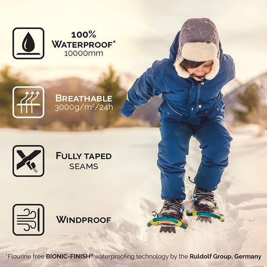 Bear Cozy-Dry Rain & Snow Fleece Lined Pants | Jan & Jul