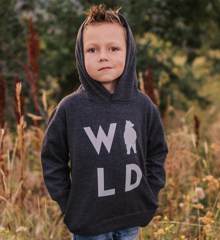 Wild Bear Hoodie | Made of Mountains