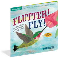 Flutter Fly Indestructibles Rip Proof + Chew Proof + Washable Books - Nature Baby Outfitter