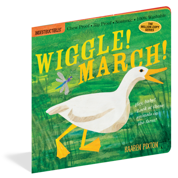 Wiggle March Chewproof Book | Indestructibles