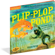 Plip Plop Pond Chewproof Book | Indestructibles