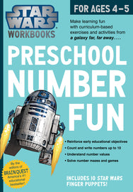 Star Wars Workbook: Preschool Number Fun | Workman Publishing