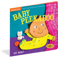 Baby Peekaboo Indestructibles Rip Proof + Chew Proof + Washable Books