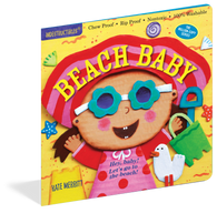 Beach Baby Indestructibles Rip Proof + Chew Proof + Washable Books - Nature Baby Outfitter